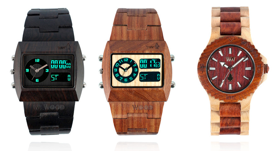 blackCRONO large copy1 WeWOOD Wooden Timepieces