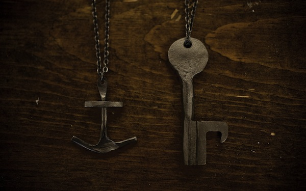 17 CXXVI Key Bottle Opener (& Anchor Necklace)