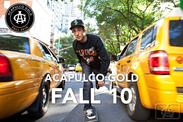 AG10 Acapulco Gold Fall 2010 Lookbook