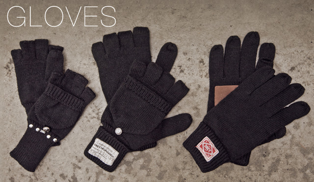 GLOVES Obey Gloves for Fall/Winter
