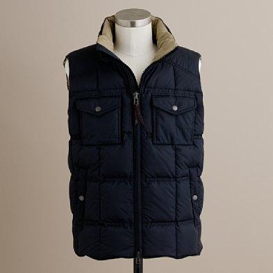 J. Crew Alpine Goosedown Puffer Vest