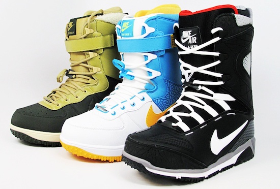 KaijiZf1 Nike Snowboarding Welcomes Winter   Zoom Kaiju & Zoom Force 1s