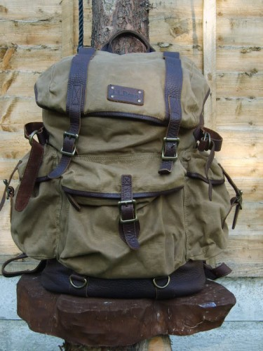 LLbean 375x500 L.L. Bean Waxed Cotton Rucksack