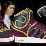 Leia Adidas 150x150 George Lucas Continues Selling Out   Star Wars 3D, Adidas, Verizon