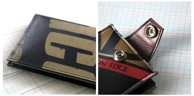 Tennis Wallets copy Alissa Anderson's Recycled Tennis Wallets