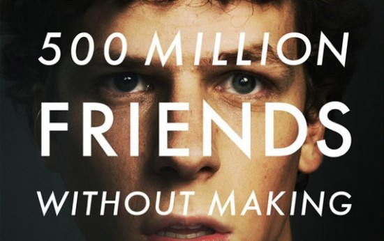 The Social Network Poster Short 21 6 10 kc 550x346 Movie Review: The Social Network