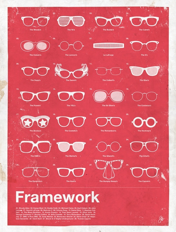 framework glasses Framework: Eyewear Made Famous