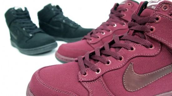 nike dunk  550x309 Nike Sportswear Canvas Dunks
