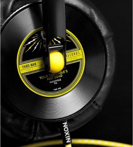 nix 454x500 Nixon x Third Man Records Master Blaster Headphones