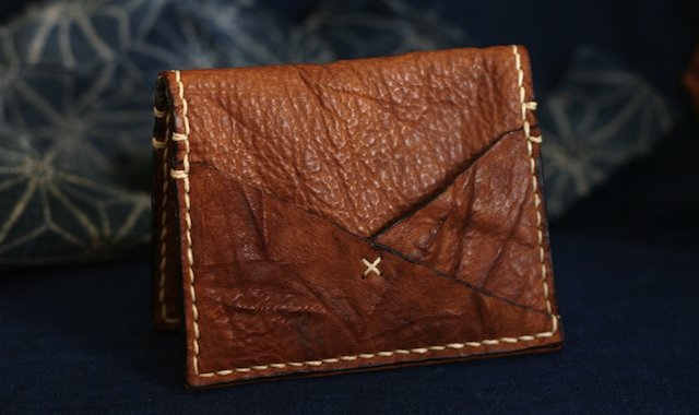 Barrett Hand Sewn Japanese Edo Barrett Alley Hand Sewn Leather Goods