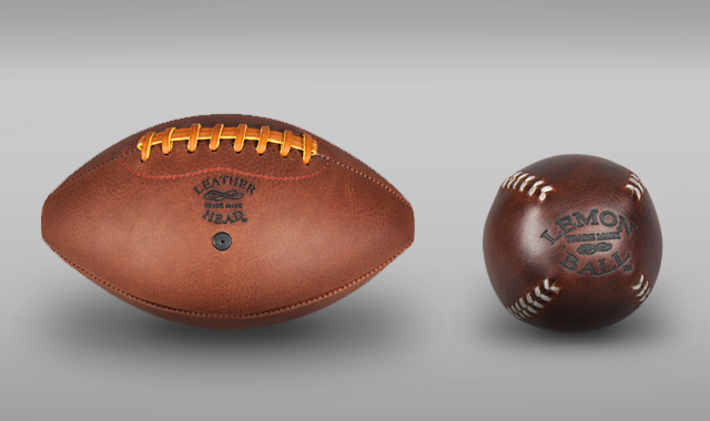 Leather Head Leather Head Game Balls