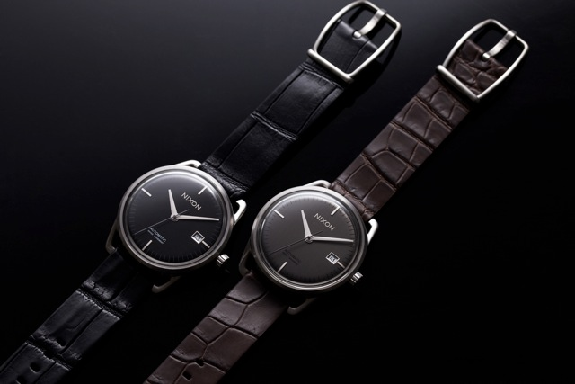 Nixion1 Nixon x Bergdorf Goodman The Mellor Watch