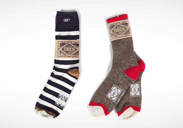 Obey Socks Obey Socks: Step Up Your Sock Game