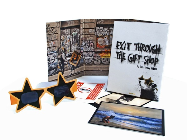 USA DVD Packshot small 72dpi Exit Through the Gift Shop on DVD