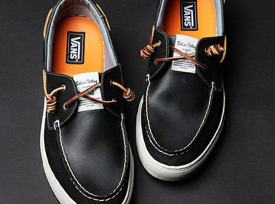 deluxe vans zapato del barco sneakers 00 Deluxe x Vans Zapato Del Barco
