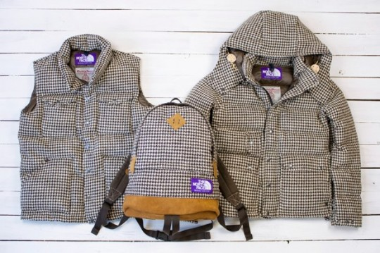 harris tweed the north face purple label houndstooth 540x359 The North Face Purple Label Houndstooth Pack