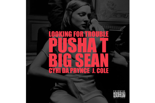 kanye west featuring j cole pusha t big sean cyhi da prynce looking for trouble G.O.O.D. Friday   Kanye West featuring J. Cole, Pusha T, Big Sean, Cyhi Da Prynce – Looking For Trouble