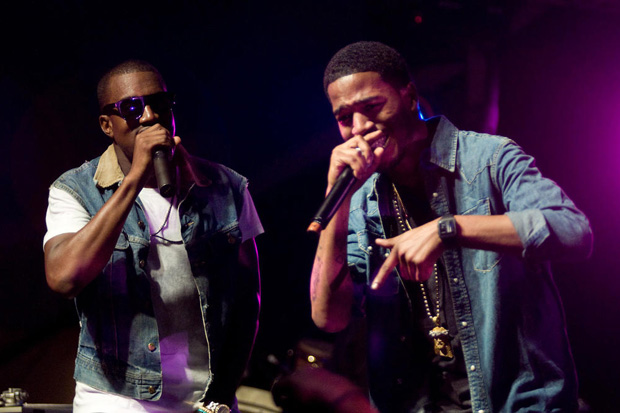 kid cudi kanye west erase me New Music: Kanye West feat. Kid Cudi & Raekwon   Gorgeous