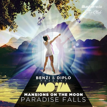 motm paradise falls1 Paradise Falls by Mansions on the Moon, Presented by Diplo and DJ Benzi