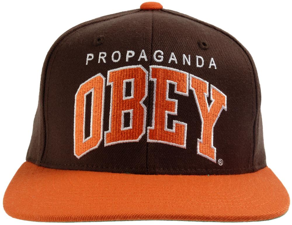 Obey Throwback Snapback Front