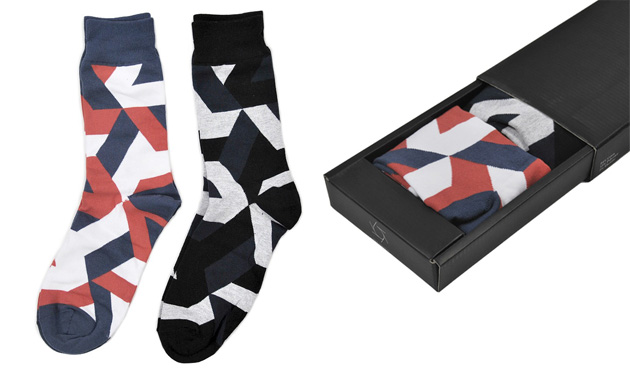 soxbox Sixpack France Socks Box