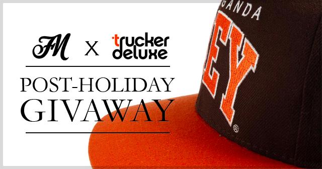 truckerdeluxegivawaybanner Trucker Deluxe x Freshborn Market Obey Throwback Snapback Giveaway