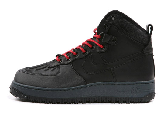Nike Air Force 1 Duck Boot High Black