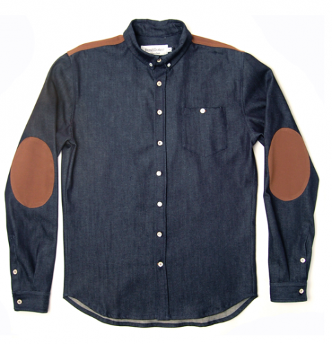 Picture 1 482x500 Raw Denim Overshirt by FrenchTrotters