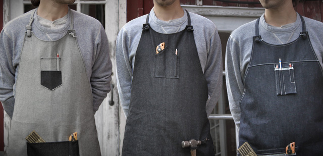 layerxlayerapron11 Coming Soon: LAYERxlayer Denim Aprons