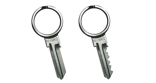 Keybrid Keybrid: The Split Ring Key